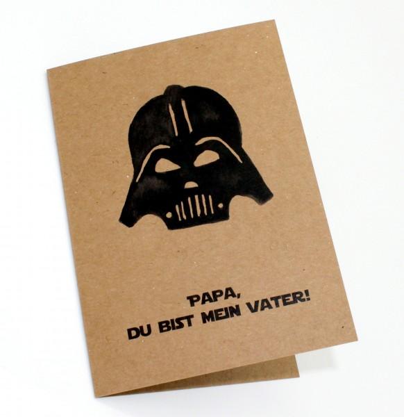 Klappkarte - Ich bin dein Vater