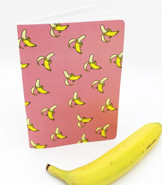 Notizheft - Banane