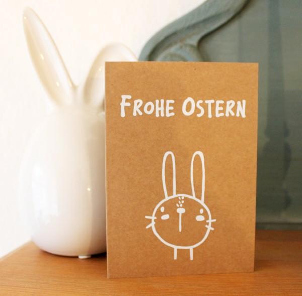 Klappkarte - Frohe Ostern