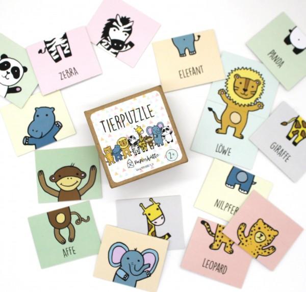 Spiel - Tierpuzzle
