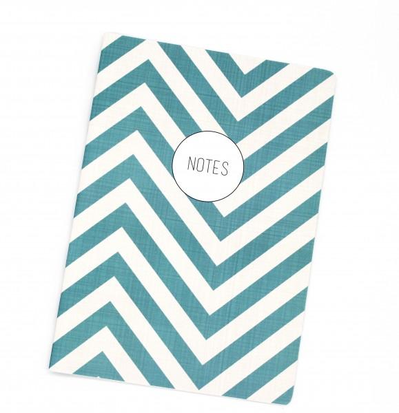 Notizheft - Notes türkis