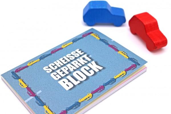 Block - Scheisse geparkt