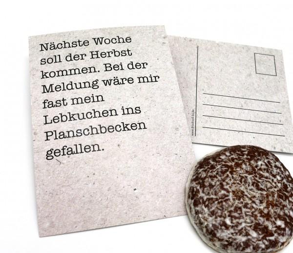Postkarte - Lebkuchen