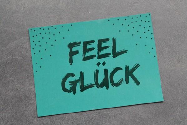 Postkarte - FeelGlück