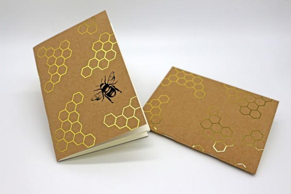 Notizheft - Bienen